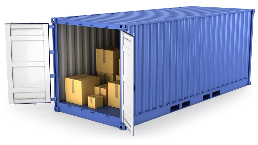 Blue Storage Container